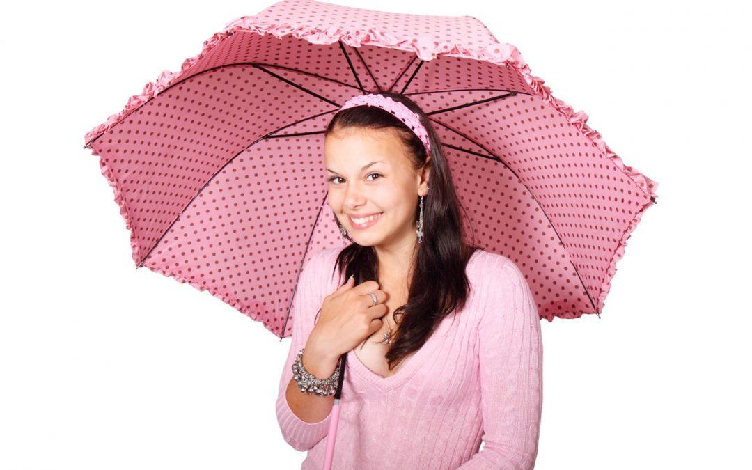 Maria y el paraguas