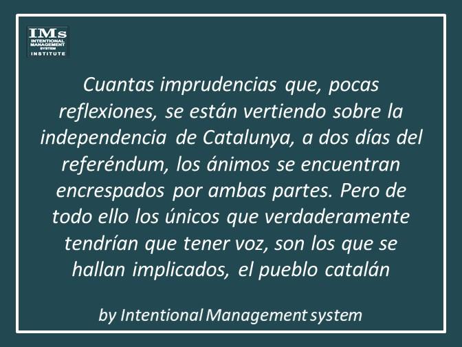 El referendum de Catalunya